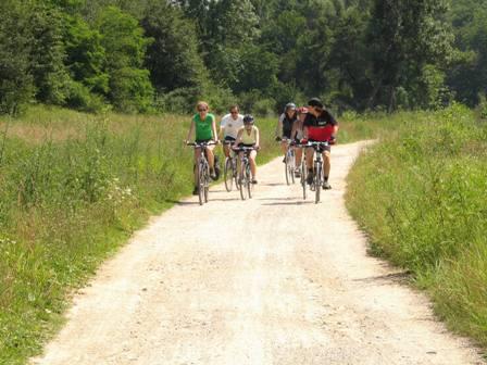 mountainbiketocht Ertsgebergte