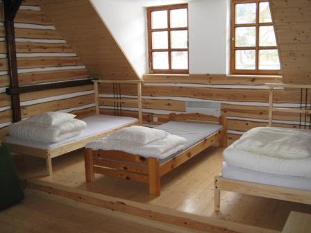 vakantiehuis Mala Skala slaapkamer
